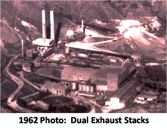 Cement Kilns In Texas : Central stack
